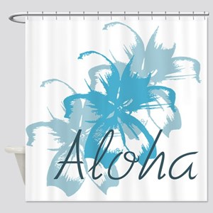 Aloha Floral Shower Curtain