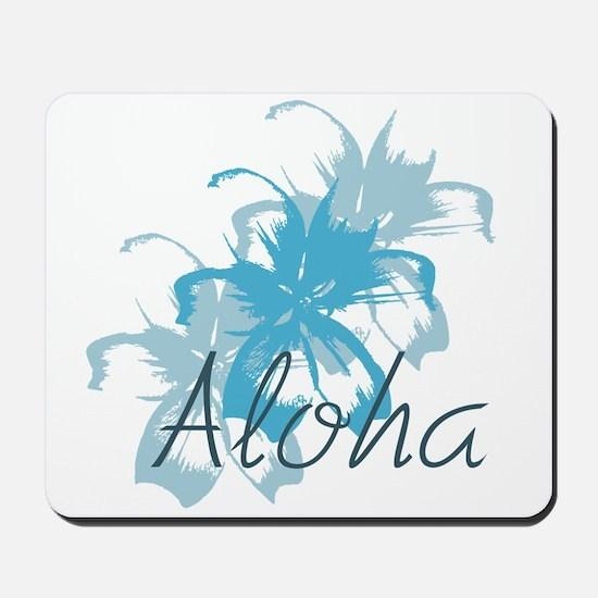 Aloha Floral Mousepad