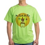 Mas Tequilla, Por Favor Green T-Shirt