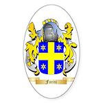 Facini Sticker (Oval 50 pk)
