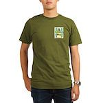Facey Organic Men's T-Shirt (dark)