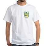 Facey White T-Shirt