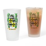 Facey Drinking Glass