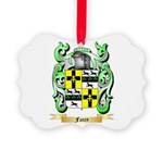 Facey Picture Ornament