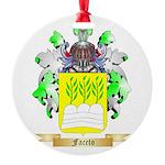 Faceto Round Ornament