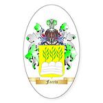 Faceto Sticker (Oval 50 pk)