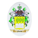 Faceto Ornament (Oval)