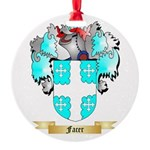Facer Round Ornament