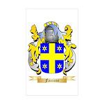 Faccione Sticker (Rectangle 50 pk)