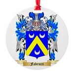 Fabrucci Round Ornament
