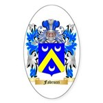 Fabrucci Sticker (Oval 50 pk)