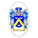 Fabron Sticker (Oval 10 pk)