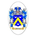 Fabrini Sticker (Oval 50 pk)
