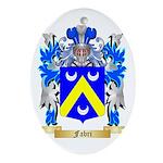 Fabri Ornament (Oval)