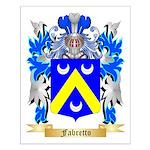 Fabretto Small Poster