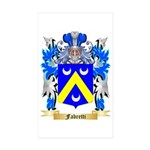 Fabretti Sticker (Rectangle 50 pk)