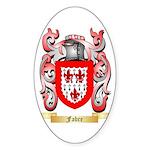 Fabre Sticker (Oval 50 pk)