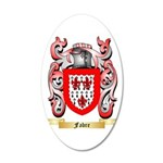 Fabre 20x12 Oval Wall Decal