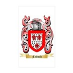 Fabisch Sticker (Rectangle 50 pk)