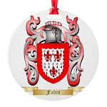 Fabin Round Ornament