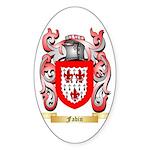 Fabin Sticker (Oval 10 pk)