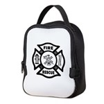 Fire Rescue Neoprene Lunch Bag