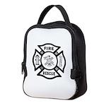 Fire Rescue Neoprene Lunch Bag