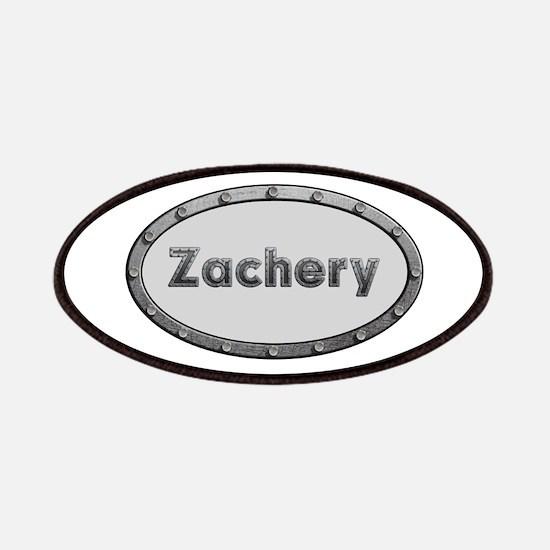 Zachery Metal Oval Patch