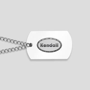 Kendall Metal Oval Dog Tags