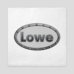 Lowe Metal Oval Queen Duvet
