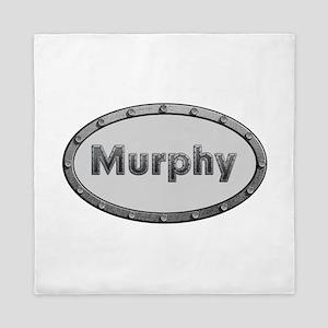 Murphy Metal Oval Queen Duvet