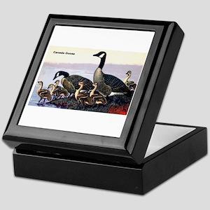 Canadian Goose Keepsake Box
