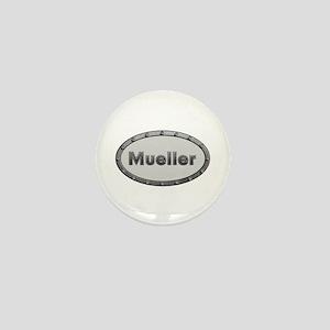 Mueller Metal Oval Mini Button