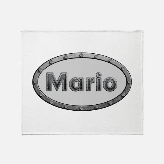 Mario Metal Oval Throw Blanket