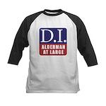 D.I. for Supervisor Kids Baseball Jersey