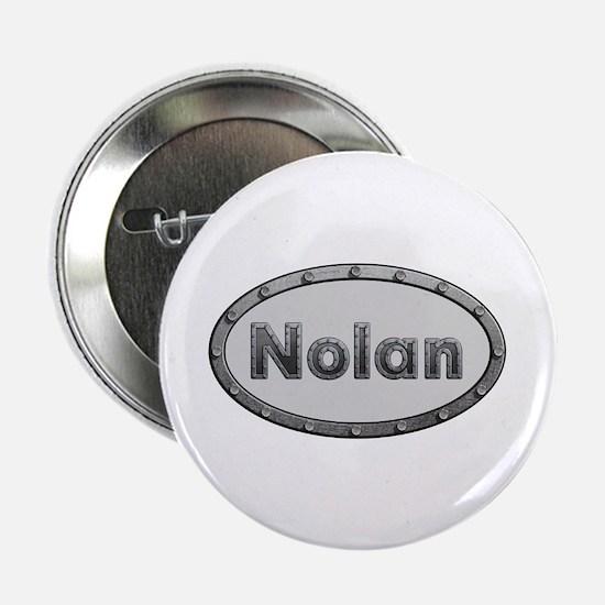Nolan Metal Oval Button 10 Pack