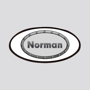 Norman Metal Oval Patch