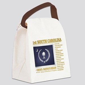 1st South Carolina Infantry (BH2) Canvas Lunch Bag