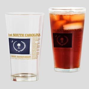 1st South Carolina Infantry (BH2) Drinking Glass