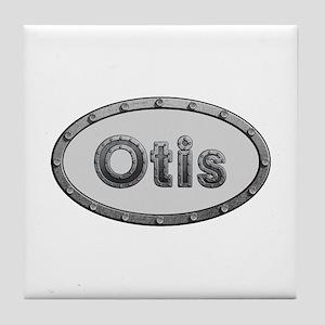Otis Metal Oval Tile Coaster