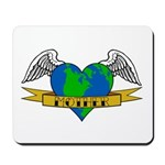 Earth Day Mother Tattoo Mousepad