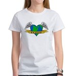 Earth Day Mother Tattoo Women's T-Shirt
