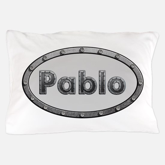 Pablo Metal Oval Pillow Case