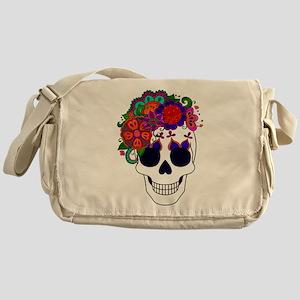 Best Seller Sugar Skull Messenger Bag