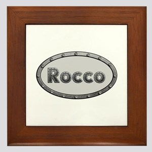 Rocco Metal Oval Framed Tile