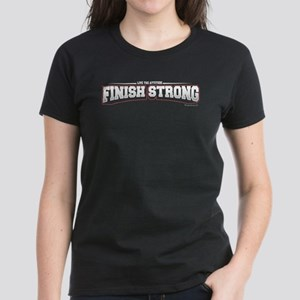 Finish Strong Women's Dark T-Shirt