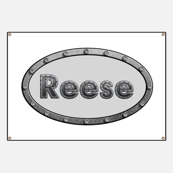 Reese Metal Oval Banner