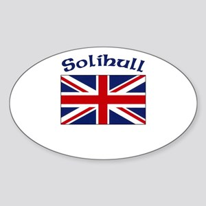 Solihull, England Oval Sticker