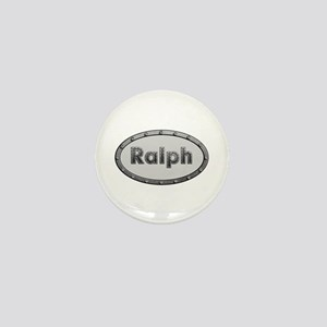 Ralph Metal Oval Mini Button