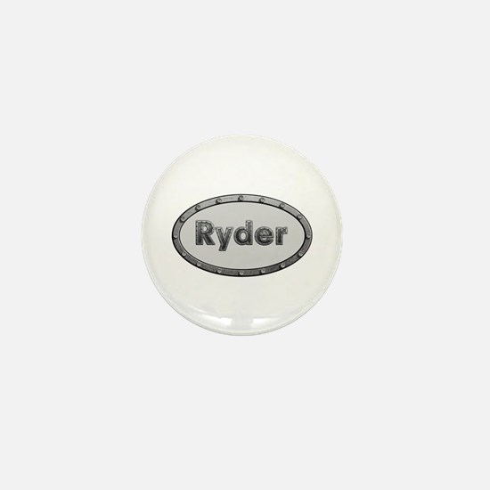 Ryder Metal Oval Mini Button
